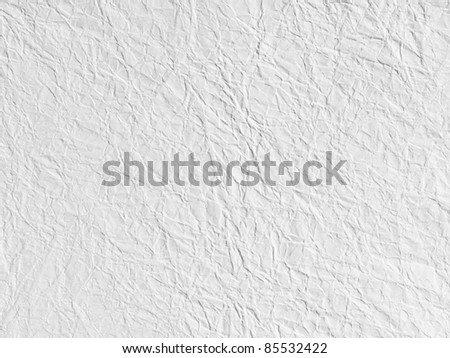 White page of paper texture - stock photo