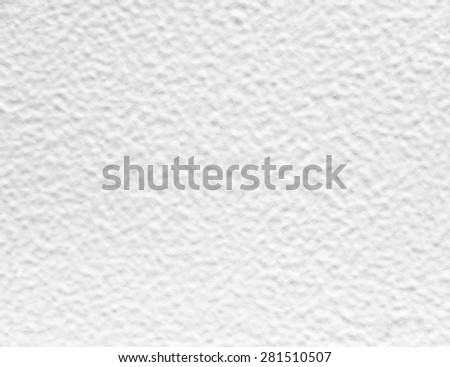 White painted mortar wall texture. - stock photo