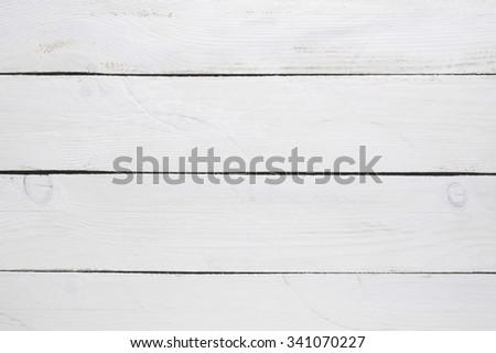 White painted wood background. - stock photo