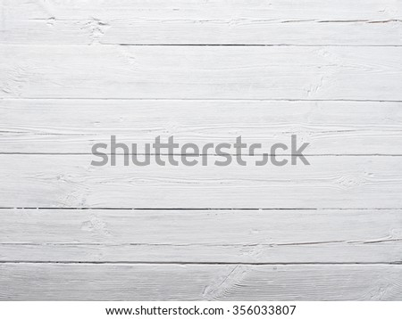 White painted wood texture background - stock photo