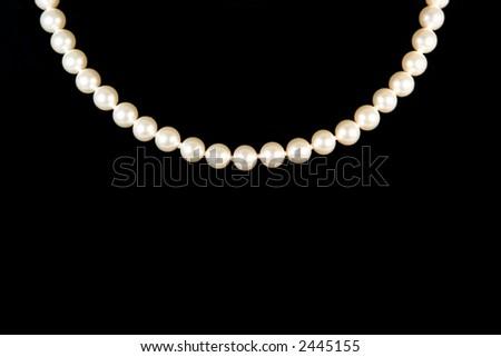White Pearls - stock photo