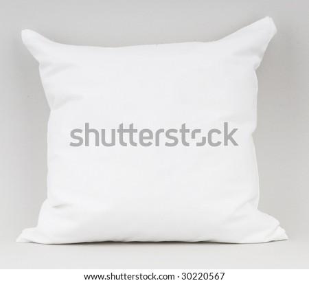 white pillow - stock photo