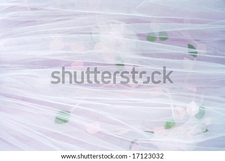 White-pink textile wedding background. - stock photo