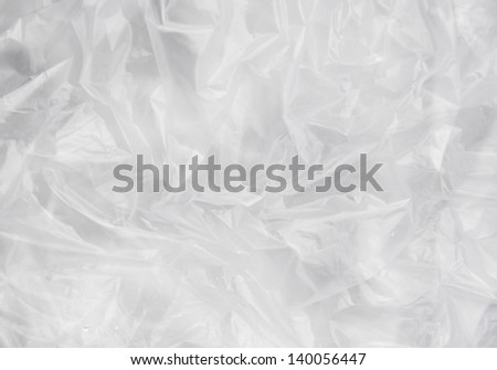 white Plastic background,Texture, macro, background - stock photo