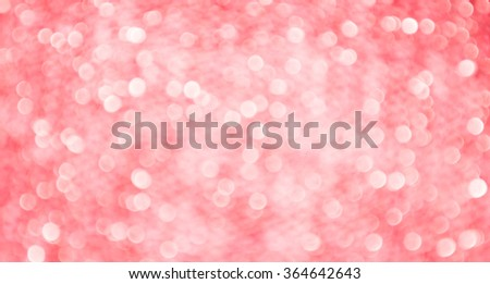 white red shiny bokeh abstract background - stock photo