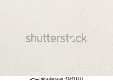 White sand soft surface - stock photo