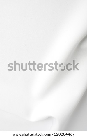 White satin background - stock photo