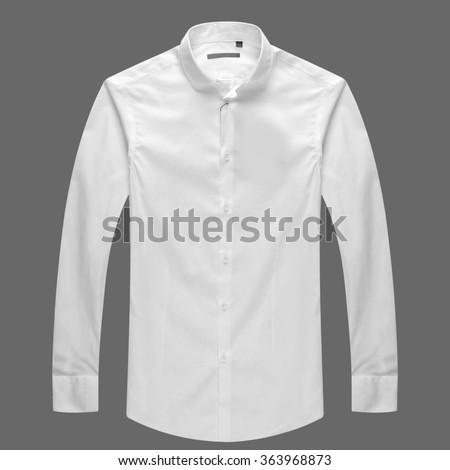 White shirt - stock photo
