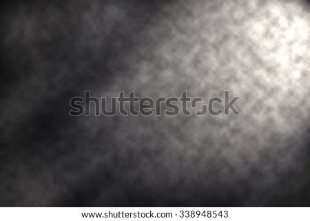 White smoke for background - stock photo