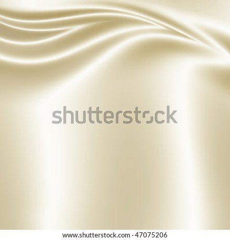 White smooth fabric texture - stock photo