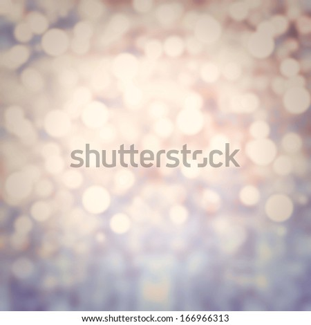 White Soft Violet  Lights Festive background, abstract Christmas twinkled bright background with bokeh defocused silver lights - stock photo