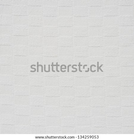 white square fabric texture - stock photo