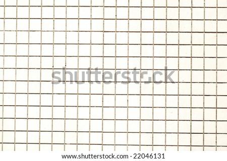 White square tiles, background - stock photo