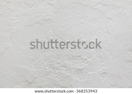 White stucco wall. Background texture. - stock photo