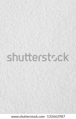 White Synthetic Fabric Texture - stock photo