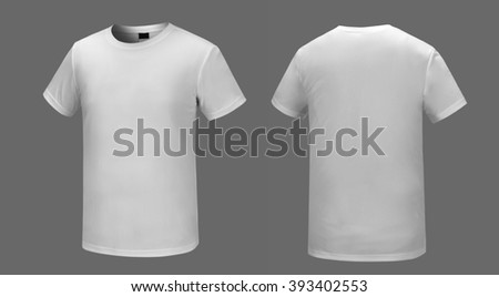 White T-shirt - stock photo
