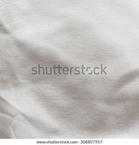 White Textile Background./ White Textile Background - stock photo