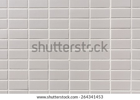 White tile design background - stock photo