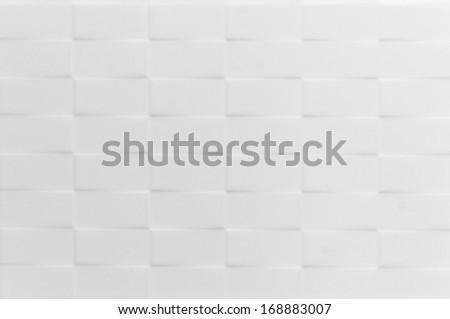 White tile textures background - stock photo