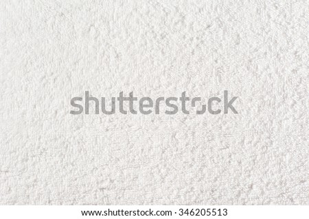 White Towel Texture - stock photo