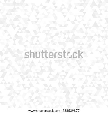 white triangle background - stock photo