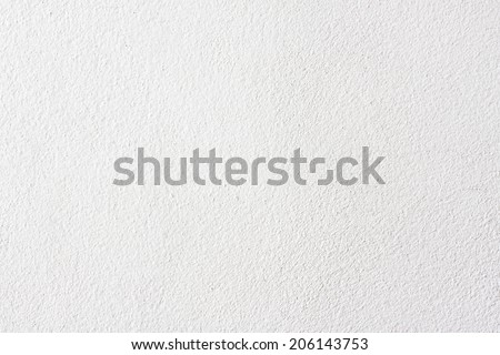 White Wall Background or Texture - stock photo