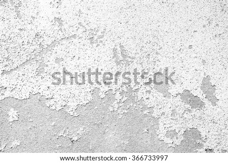 white wall texture background with cracks - stock photo