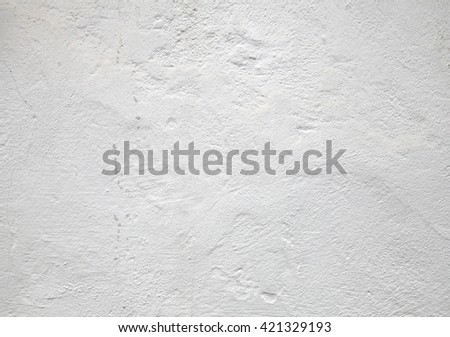 white wall, texture for background - stock photo