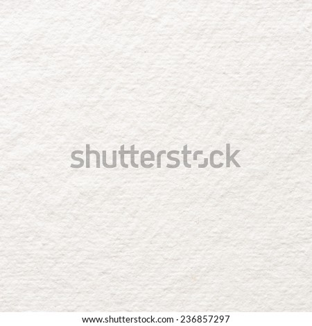 White watercolor paper texture. - stock photo