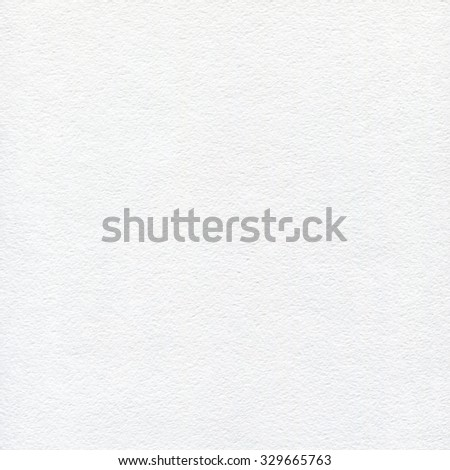 White watercolor paper texture. Space background. - stock photo