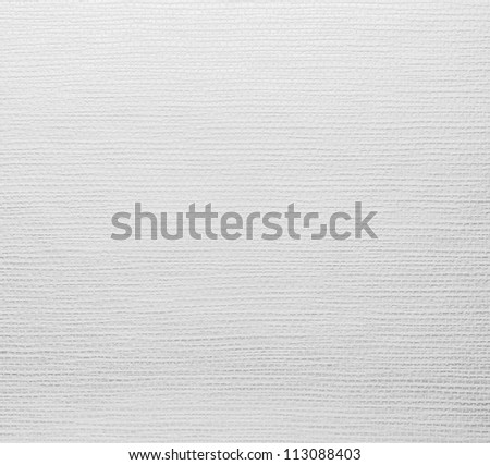white weave material, background - stock photo