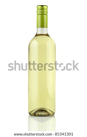 White wine. - stock photo
