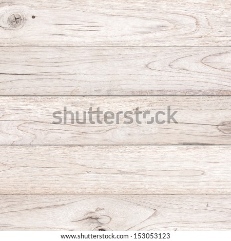 White Wood plank brown texture background  - stock photo