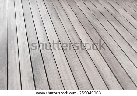 White wood plank wall texture background. - stock photo