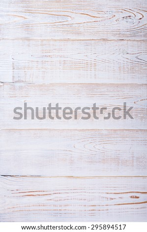 White wood texture with natural patterns vertical - stock photo