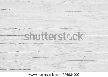 WHITE WOOD VINTAGE TEXTURE - stock photo