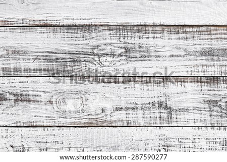 white wooden board - stock photo