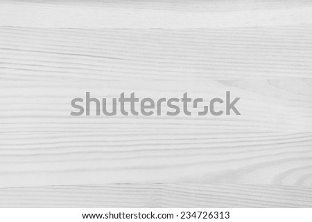 White Wooden Board Texture - stock photo