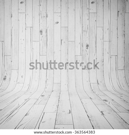 white wooden laminate as a background - stock photo