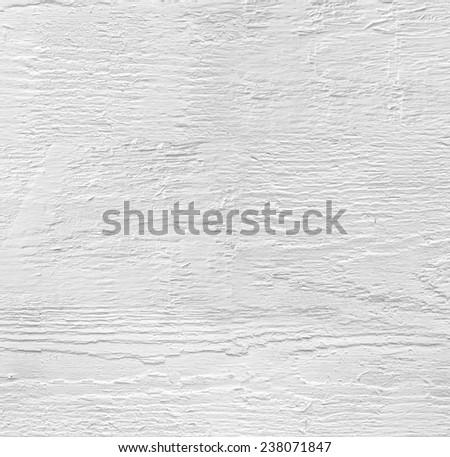White wooden texture  - stock photo