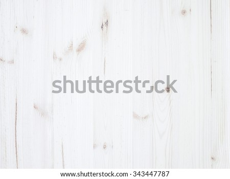 White wooden texture. Vintage rustic style. Natural surface, background and wallpaper - stock photo
