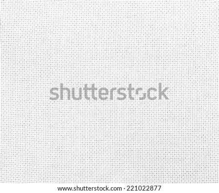 white woven fabric - stock photo