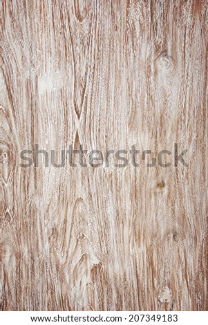 Whitened wood texture - stock photo