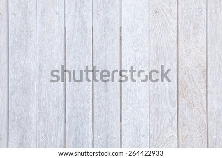 Whitewashed Old Weathered Wood Background Wooden Texture Pattern - stock photo