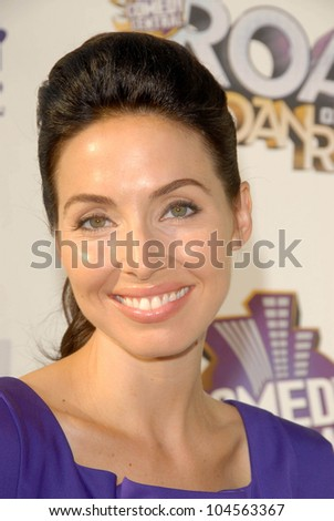 Whitney Cummings  at Comedy Central's Roast of Joan Rivers. CBS Studios, Los Angeles, CA. 07-26-09 - stock photo