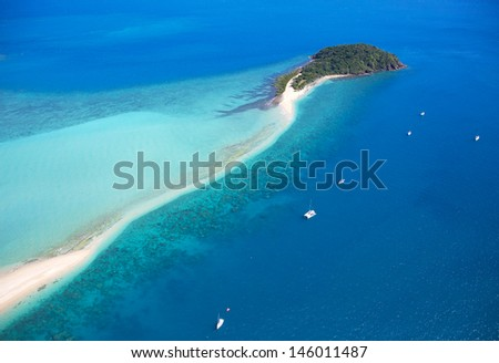 Whitsundays Island - stock photo