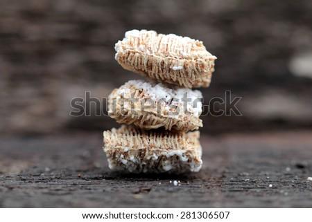 whole grain wheat - stock photo
