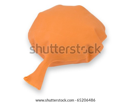 whoopee cushion inflated - stock photo