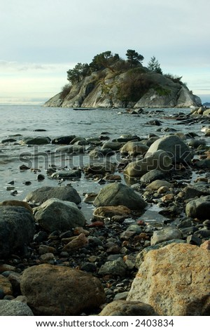 whytecliff park - stock photo