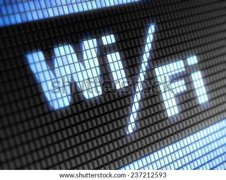 Wi-Fi - stock photo